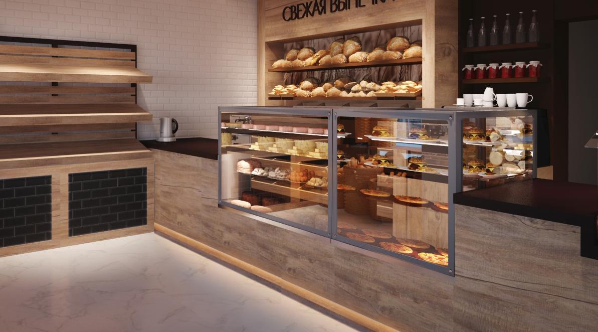 Дизайн мини пекарен